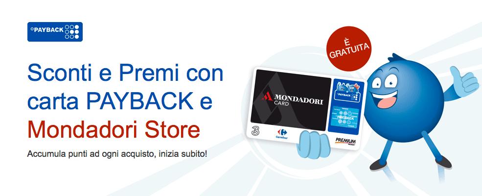Sconti e Premi con carta PAYBACK e Mondadori Store